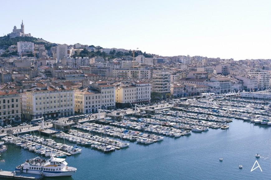 Marseille vue depuis la Grande-Roue