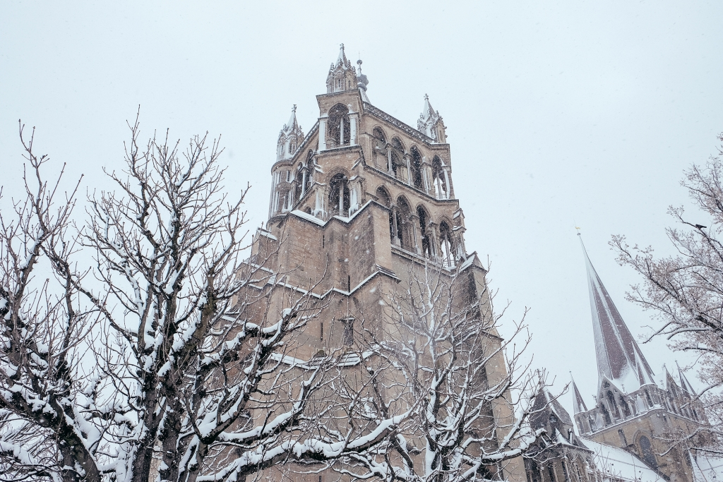 Lausanne_Hiver_Neige_Cathedrale_6