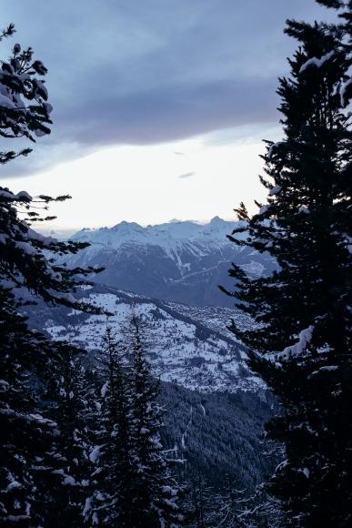 Thyon 4 Vallées Randonnée Raquettes