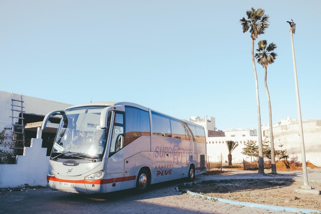 Essaouira-Marrakech-Bus