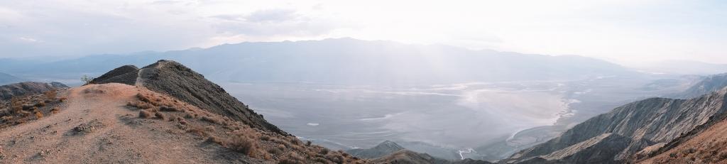 Le panorama qu'il est possible d'admirer depuis Dante's View