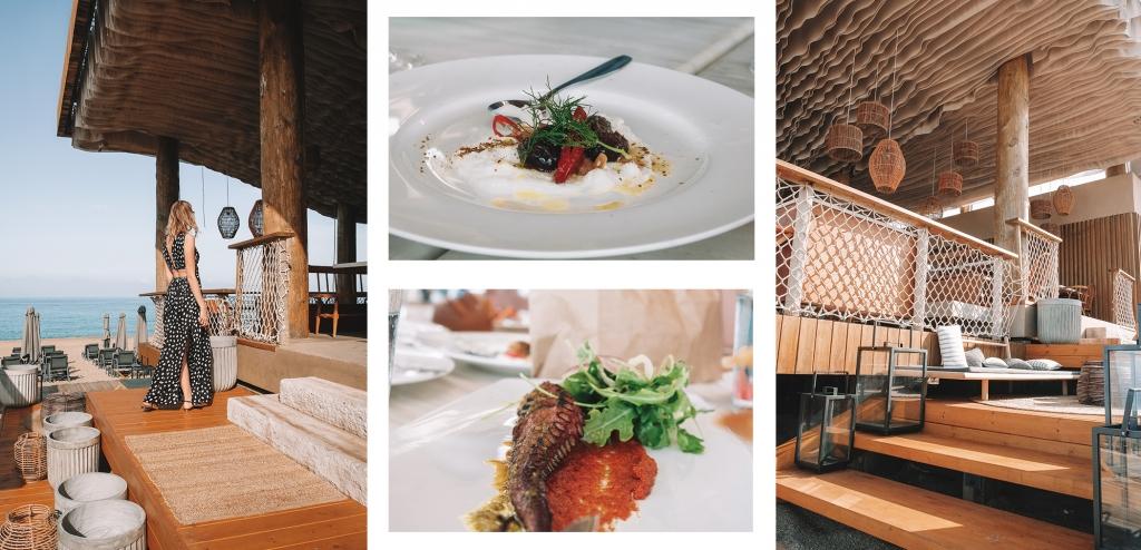 Le Barbouni le restaurant de plage de Costa Navarino