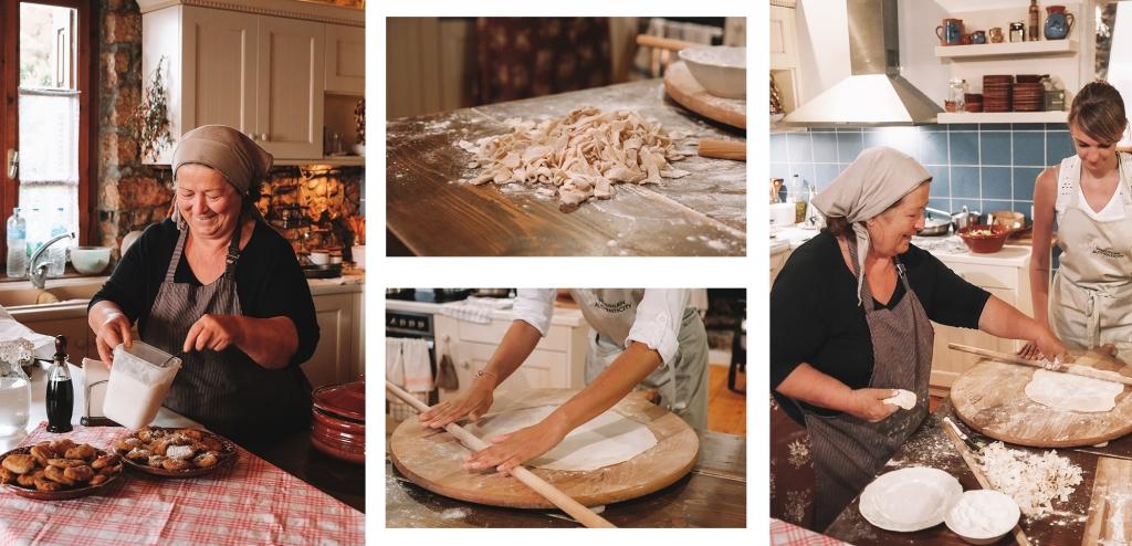 Un cours de cuisine authentique de la région de Messénie