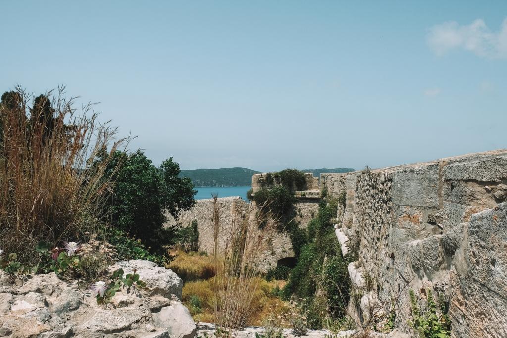 Les remparts de Neo Kastro près de Pylos