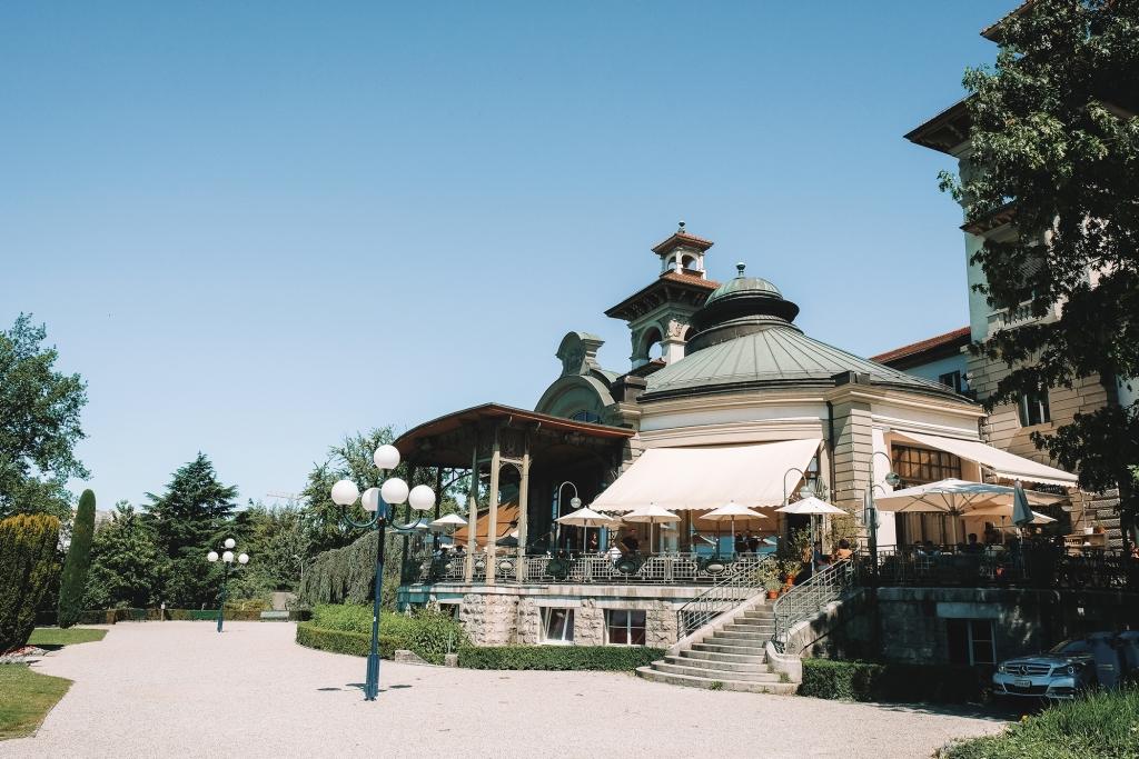 Le batiment du Casino de Montbenon a une très belle architecture