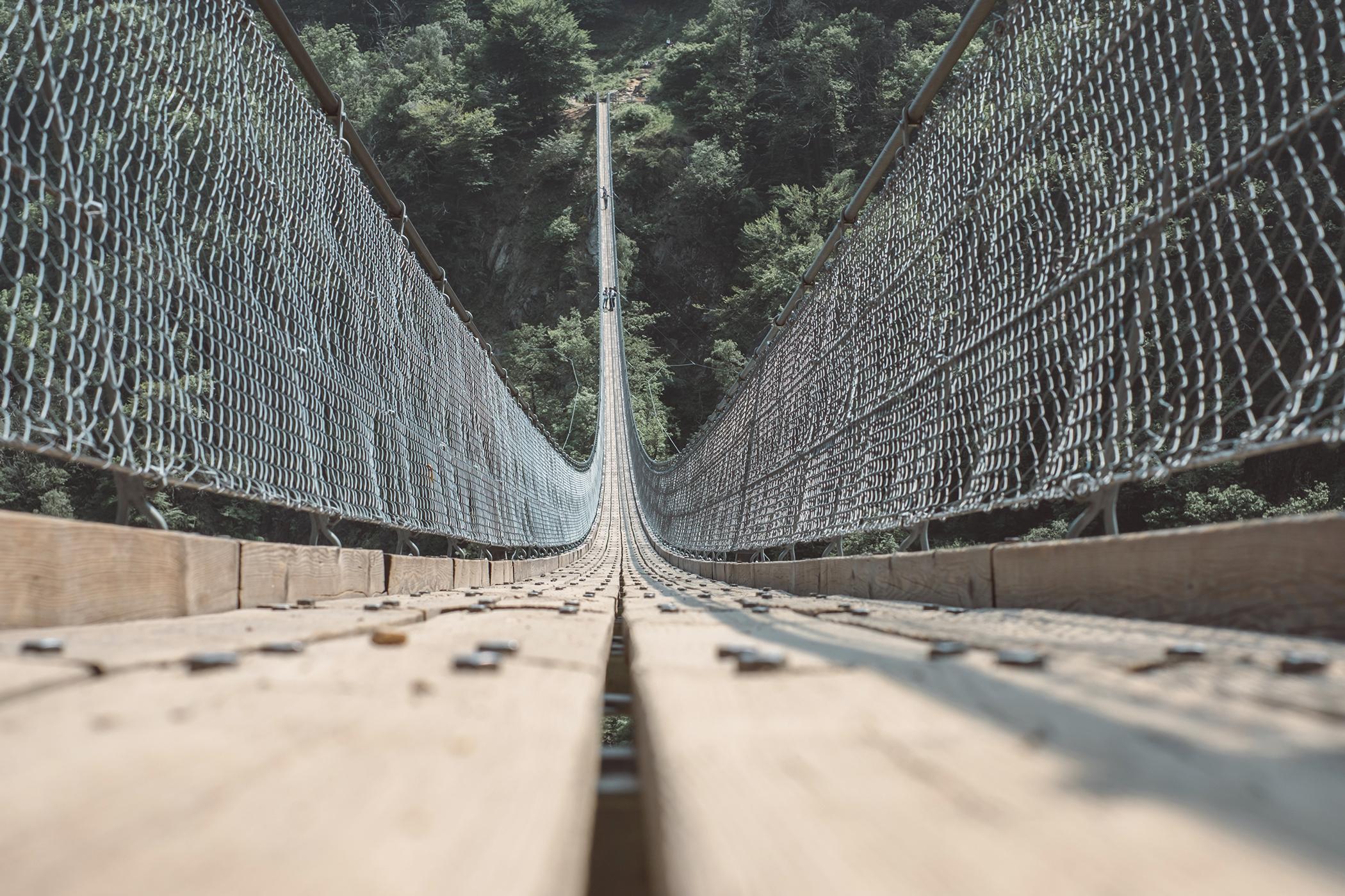 Le Pont Tibétain de Carasc