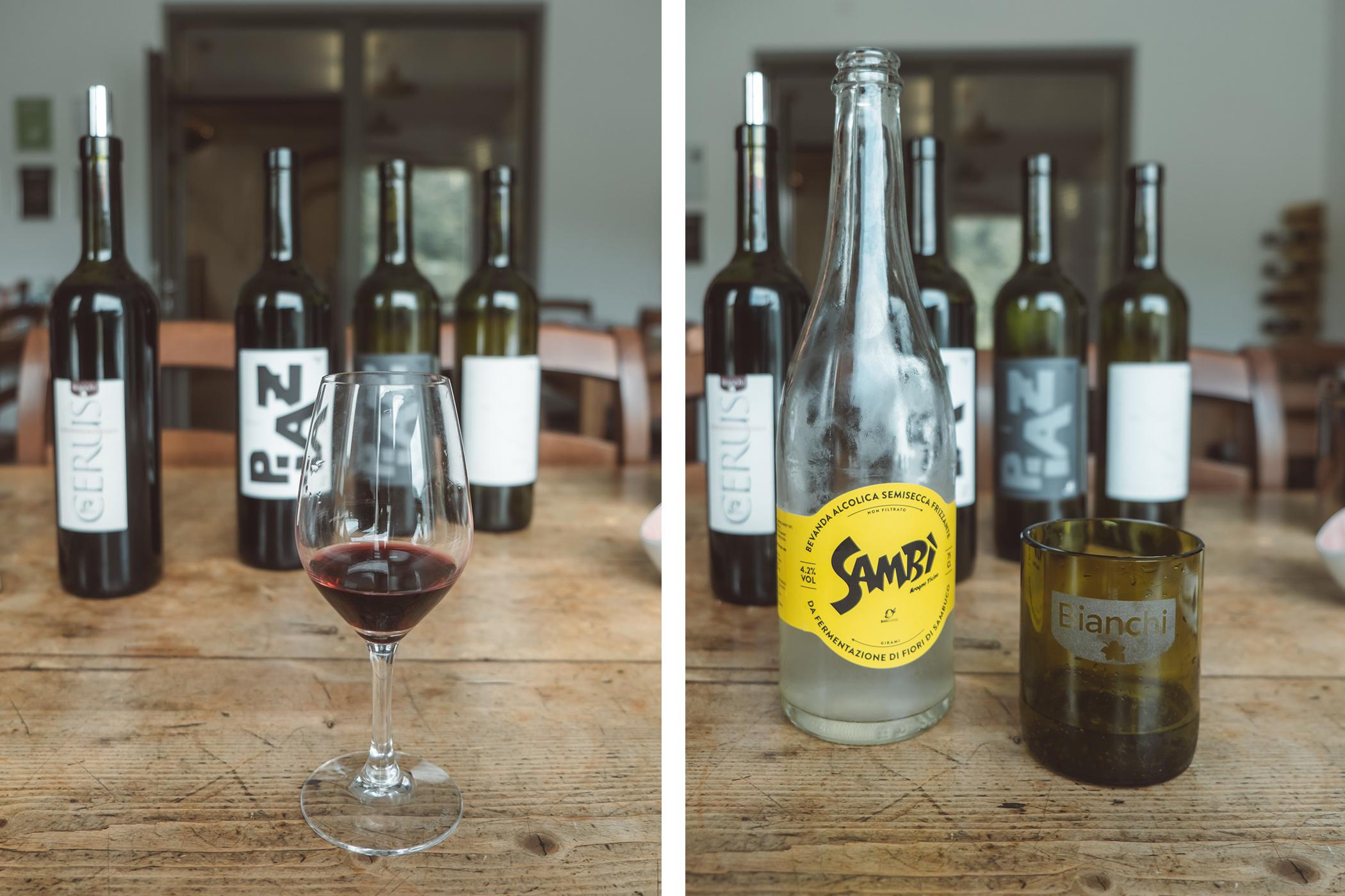 Les vins d'Azienda Agricola Bianchi