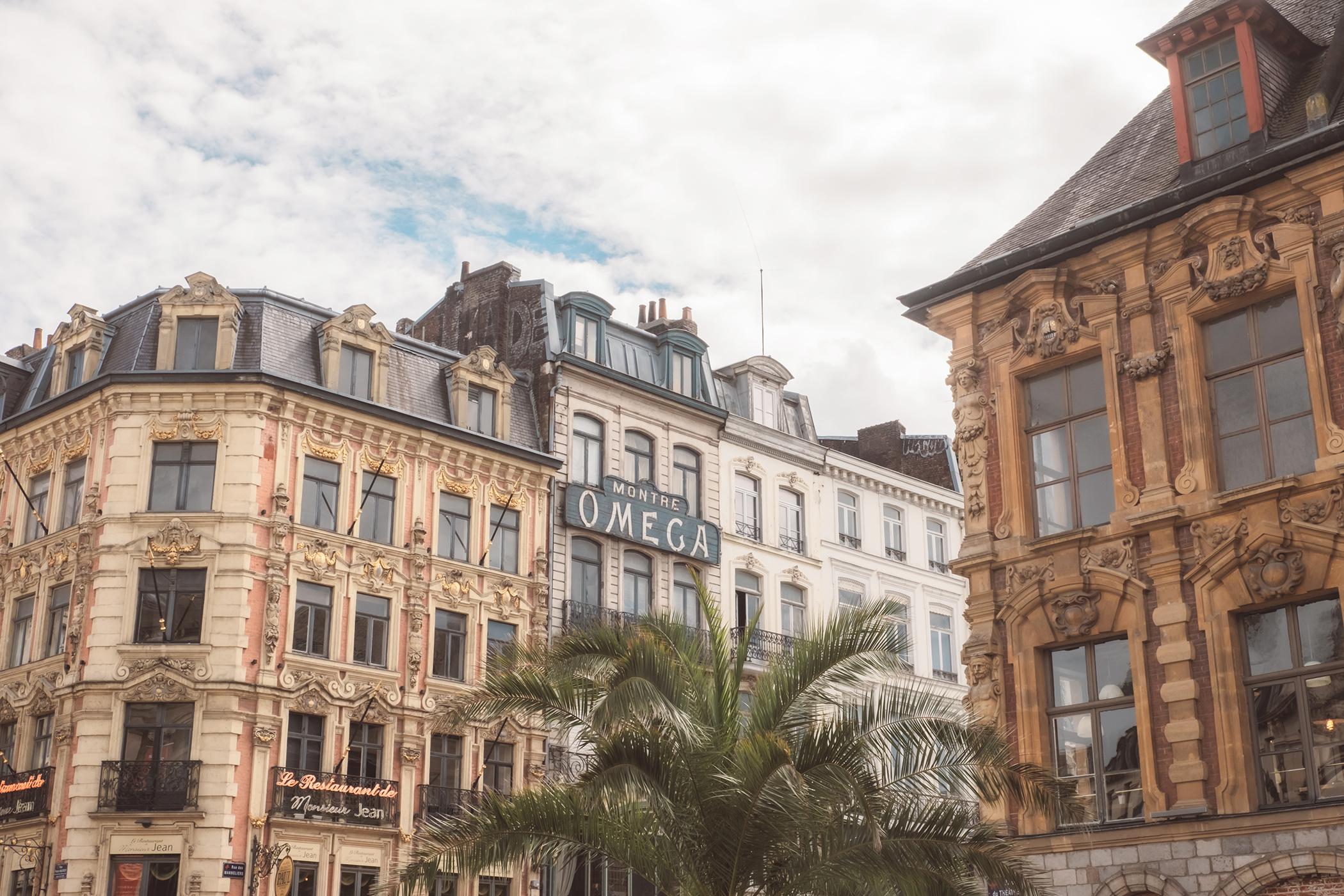 Façades de bâtiments près de la Grand Place