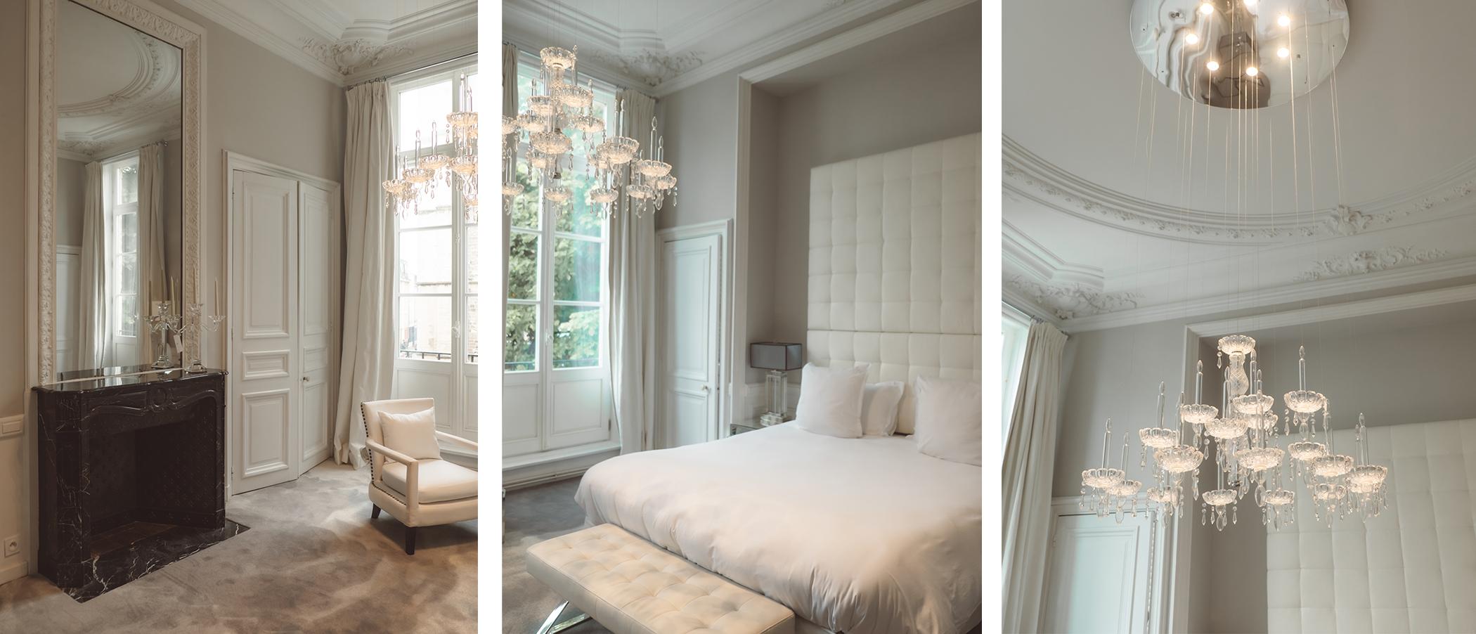 Une chambre du Relais & Château Clarance Hotel