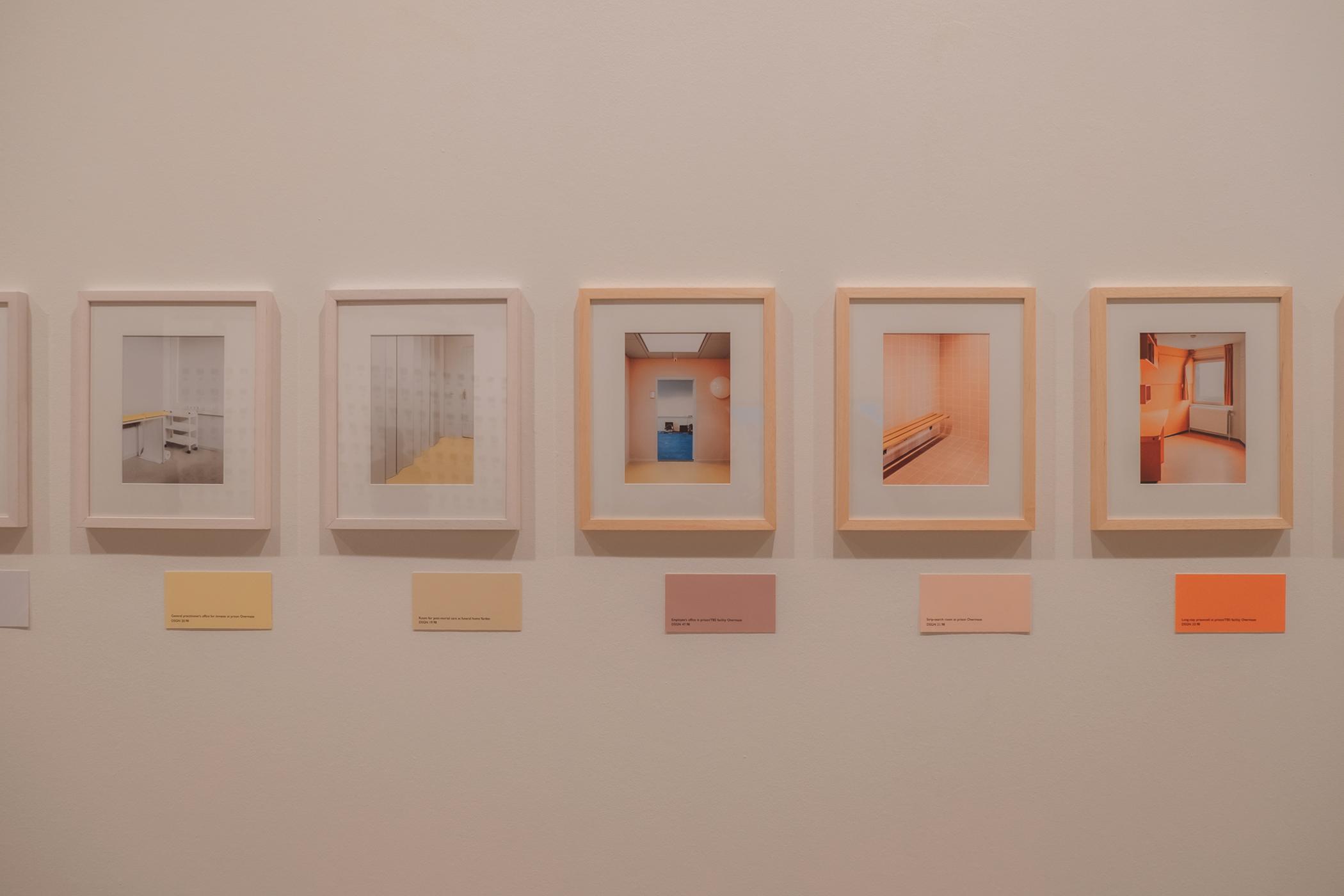 Photographie de l'exposition Colors etc au Tripostal