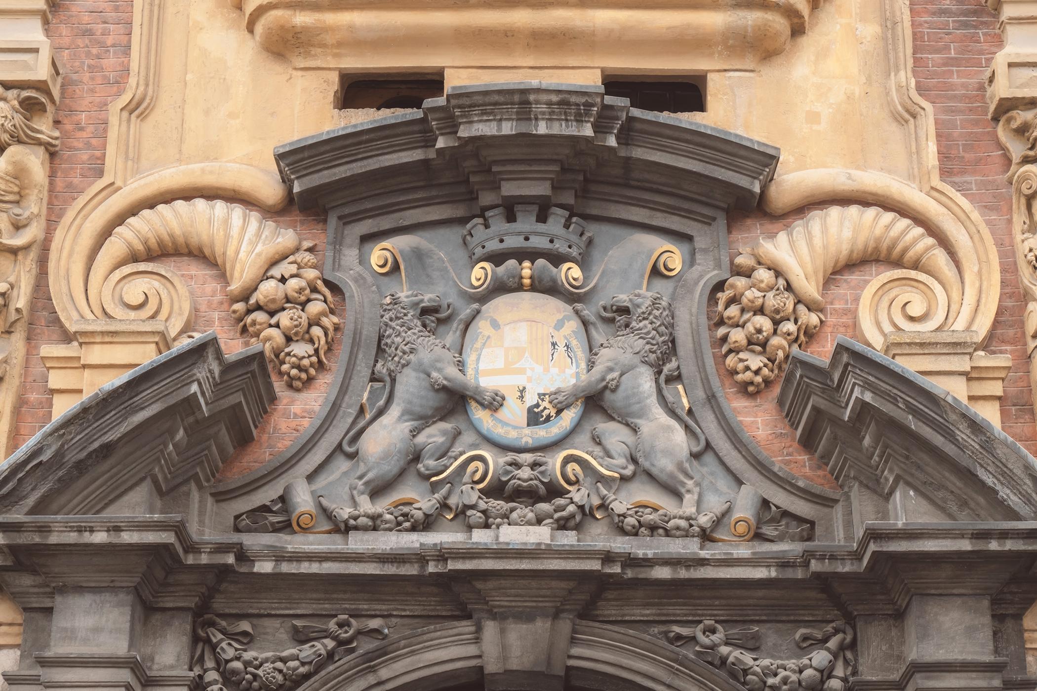 Les armoiries de la couronne d'Espagne