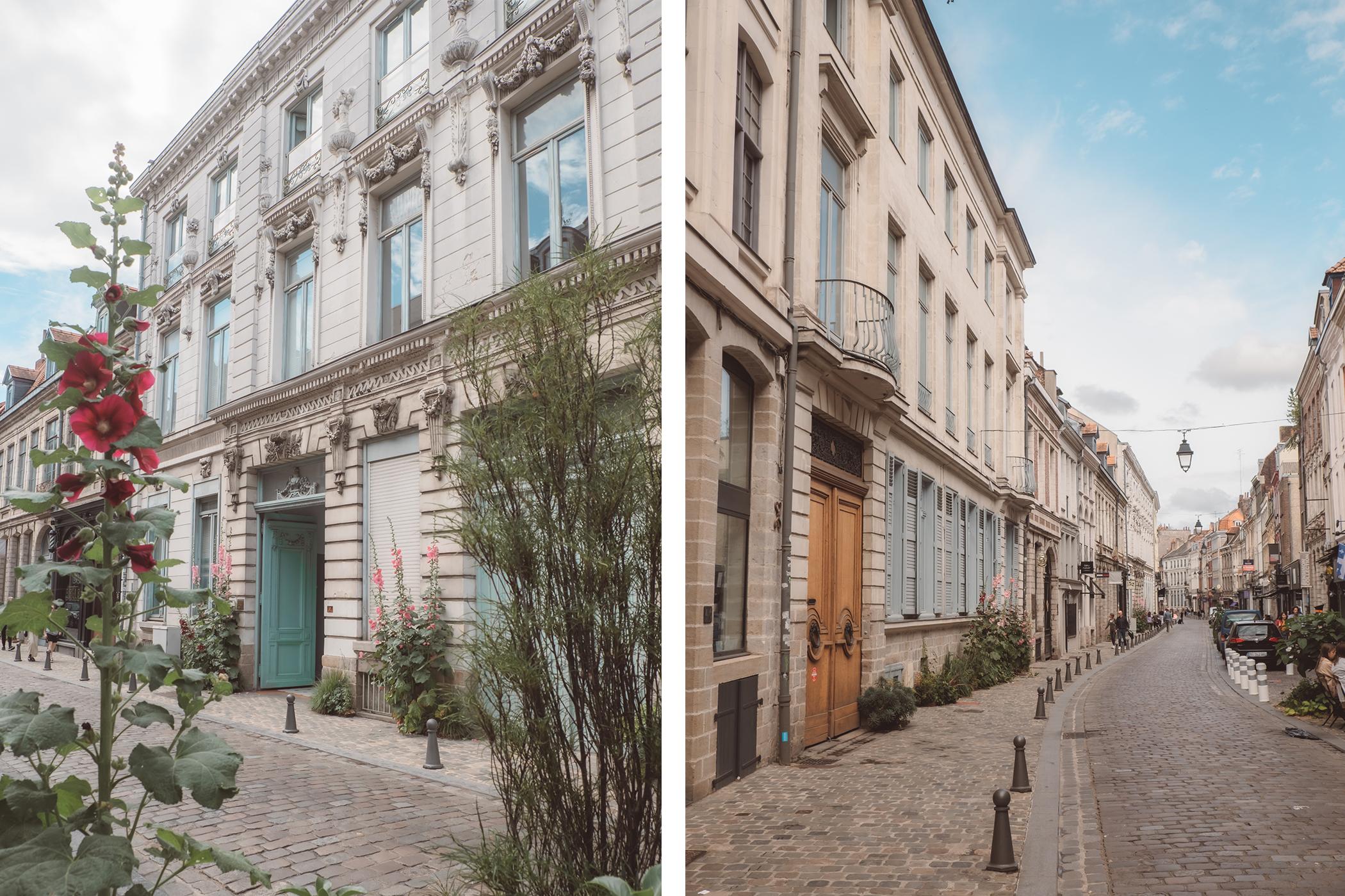 Ruelles pavées de Lille