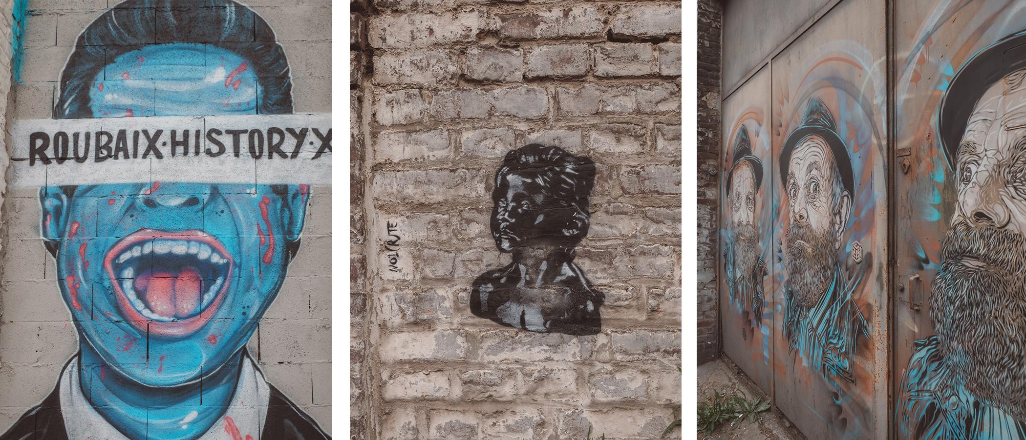 Le Street Art à Roubaix